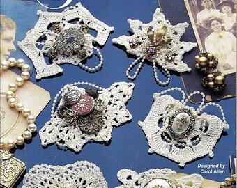 Crochet Victorian Pins 5 Crocht Patterns Annie's Attic 879505