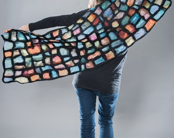 Stained Glass Shawl