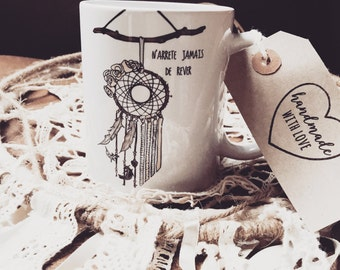 Mug dream catcher
