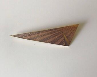 Vintage Geometric Pin