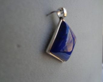 Silver .925 pendant / lapis lazuli.