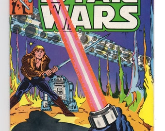 "Marvel Star Wars Comic #37 ""In Mortal Combat"" - 1980 Star Wars"