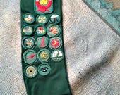 Vintage 1959 Girl Scout Sash, Portland Oregon Troop #41