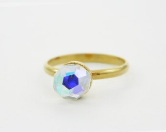 Color Prism Ring - Ice Ring - Midi Ring