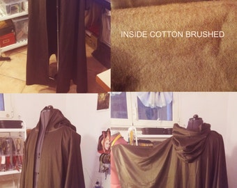 READY for SHIPPING Jedi robe, wizard cloak, SW jedi inspired coat robe replica