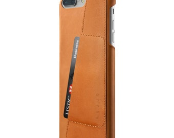 Mujjo Leather Wallet Case for iPhone 7 Plus - Tan