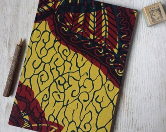 NEW 2017-2018 A4 academic midyear planner diary calendar agenda weekly Unique Bespoke Customised hardback cover African print