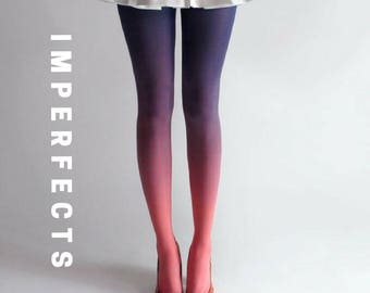 BZR Ombré Tights in Sky - SALE