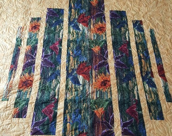 Colorful Fractured Quilt