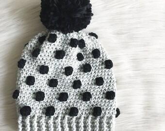 Charlotte Beanie Crochet Pattern // Easy // Intermediate // Tutorial