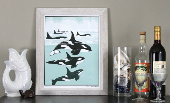 Orca Pod by xNarixa on DeviantArt |Pod Of Orcas Drawing