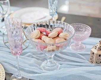 Glass Wedding Centerpiece / Wedding Decor / Vintage Wedding / Wedding Vase