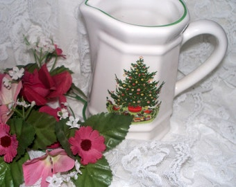 Pfaltzgraff Christmas Heritage ALL Original - Creamer - Barely Used