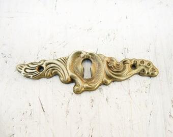 Vintage Escutcheon - Keyhole Plate