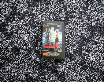 CIA: Code Name Alexa VHS Tape. Rare 90s Low Budgest Cult Classic Action Movie. Lorenzo Lamas And OJ Simpson Spy Action Movie