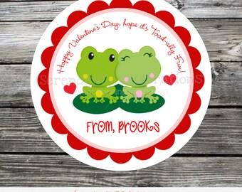 Printable Valentine Cards, frog Valentine's Day Cards, Classroom Cards, Valentine's Day,  Kids Valentine Cards, DIY Valentine's Cards, toad