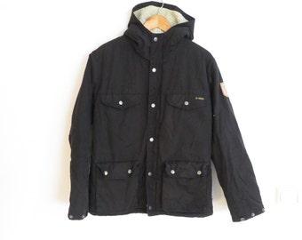 Fjallraven Men's Greenland Hooded Warm Winter Padded Jacket Black, sz. S