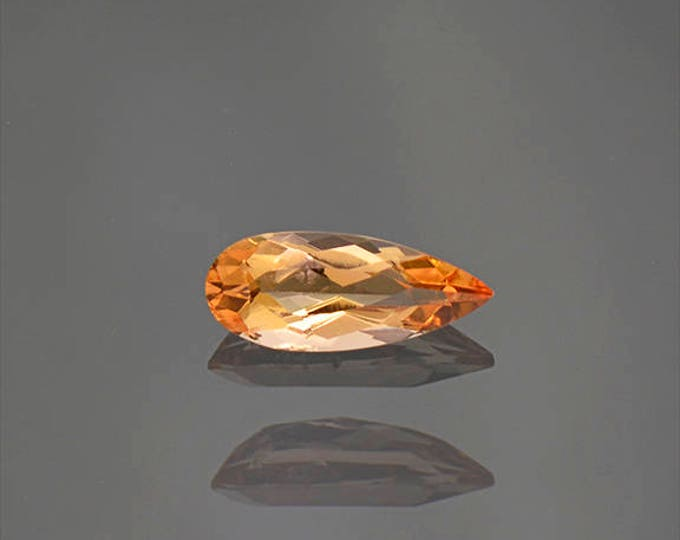 UPRISING SALE! Fantastic Bright Orange Imperial Topaz Gemstone from Brazil 0.96 cts.