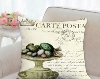 French Easter Pillow