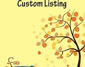 Custom Listing - 2 Pendants