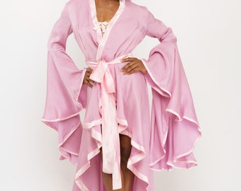 Voluptuous Robe - dramatic Robe - Fancy Robe - Drama