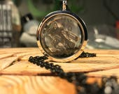 Hand-drawn REAPER Overwatch floating locket