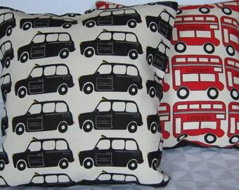 London taxi cushion cover