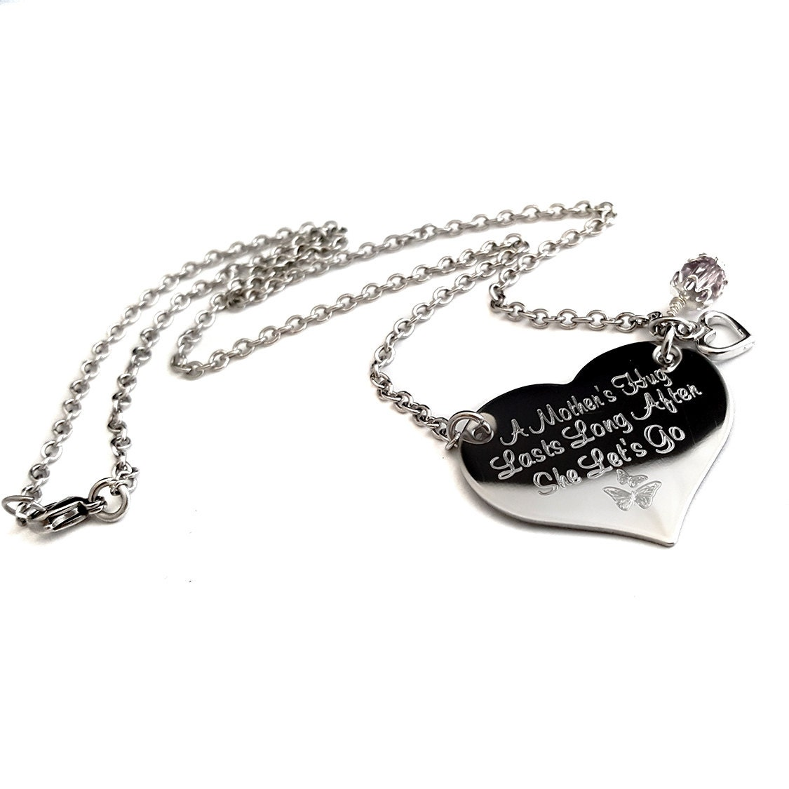 personalized mothers necklace mother 39 s day necklace. Black Bedroom Furniture Sets. Home Design Ideas