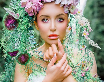 Florescence Floral Headdress by Royal Dissension