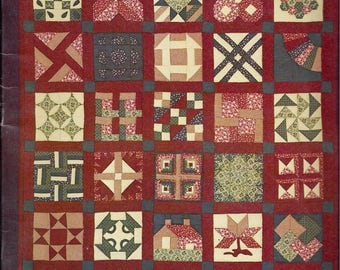 The Sampler Quilt by Diana Leone (Softcover, 1980)