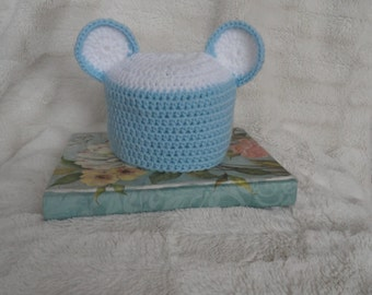 Hand knit baby hat (HAT ONLY)