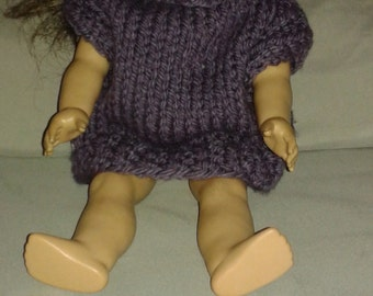 American Girl Doll Poncho, pullover, matching child poncho, matching child pullover