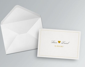Wedding card to print out. Belvedere | PDF