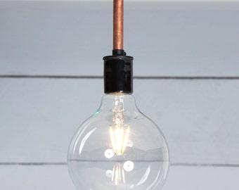 Copper Ceiling Light - Semi Flush Mount