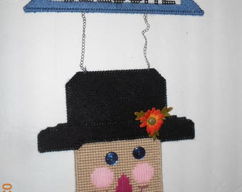Scarecrow - wall hanging - Autumn - Fall