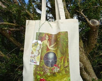 The Green Goddess ~ Tote Bag
