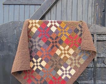 Plaid Baby Quilt | Baby Boy Quilt | Plaid Nursery | Plaid Flannel Quilt | Plaid Baby Blanket | Plaid Crib Bedding | Handmade Baby Quilt