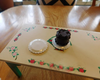 Cake Plate, Miniature Doll house, Platter