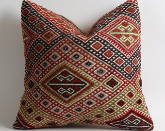 moroccan pillow, throw pillow, pillow cover, moroccan pillows, decorative pillows, decorative pillow, moroccan cushion, accent pillow