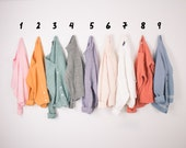 YOU PICK - Vintage Pastel Solid Striped Sweaters Oversized Grunge Cozy Cardigans Pullovers Small Minimalist Basic Sweater -G