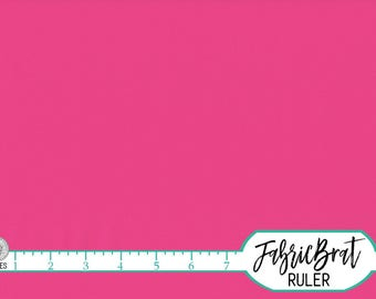 KONA COTTON BRIGHT Pink Solid Fabric by the Yard, Fat Quarter Robert Kaufman Hot Pink fabric K001-1049 100% Cotton Quilting Fabric w11-35