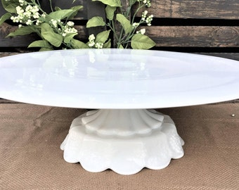 "Large 16 Inch ""The Timeless""  Wedding Cake Stand/16 Inch Vintage Inspired Cake Stand/Decorator Display Stand/Ready to Ship"
