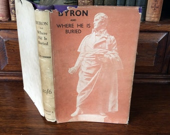 BYRON And Where He Is Buried