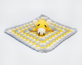 Baby Giraffe Blanket - Yellow Giraffe Baby Blanket - Baby Giraffe Lovey - Giraffe Baby Lovey Blanket - Giraffe Blanket - Giraffe Baby Gift