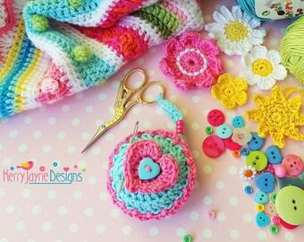 SCISSOR KEEPER CROCHET Pattern Valentines day gift crochet pattern Scissor keeper pattern Friendship crochet pattern Heart crochet pattern