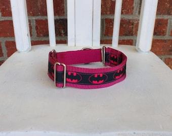 Greyhound Martingale - Pink Batman