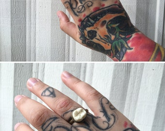 Human Tooth *Replica* Ring