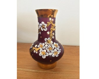 Hand painted Vase from Eastern Europe