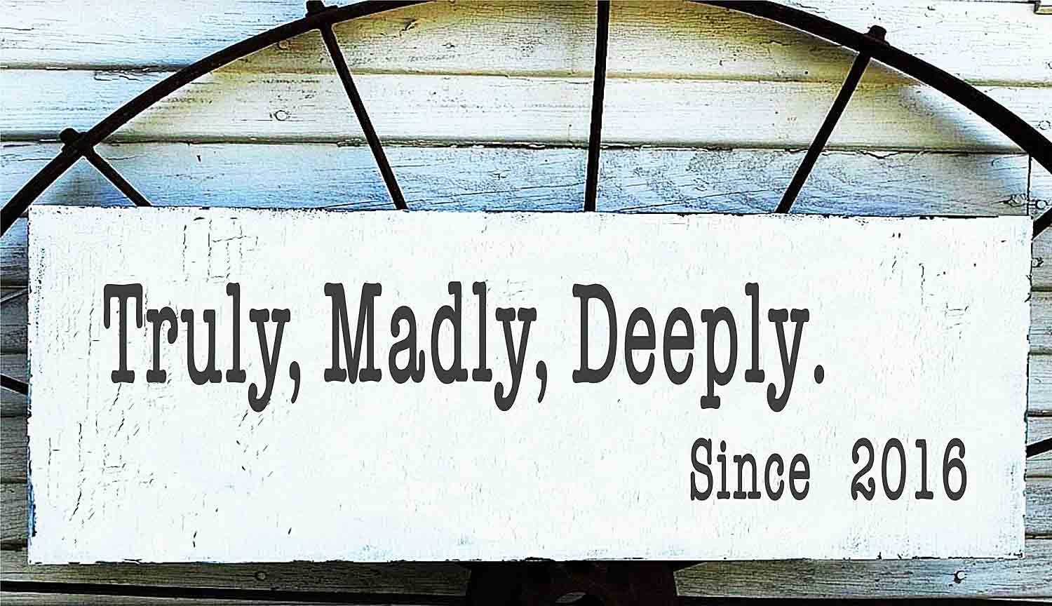 Truly madly deeply dating - No strings dating discount code