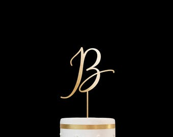 Customized Wedding Cake Topper Personalized Cake Topper for Wedding, Custom Personalized Wedding Cake Topper, Monogram Cake Topper #26